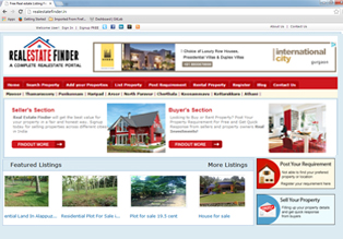 Realestate Website for sale